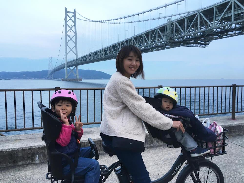 以前に住んでいた神戸・明石大橋でのショット くらしと仕事